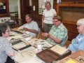 200th Committee discusses artifacts with Beth Patkus