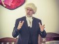 """Rev. James Moore visited as """"John Wesley"""""""