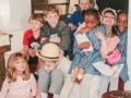 Children with our District Superintendent, Rev. Kieffer