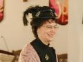JoAnne's hat was a hit