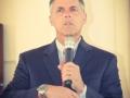 Rev. Ken Kieffer encouraging the congregation