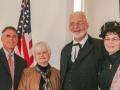 Rev. Ken Kieffer, former 61st Rep. Ruth Fahrbach, Pastor Kelvin and JoAnne