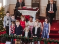 Our children's choir sang very well