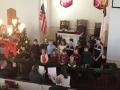 Children's choir moment