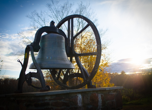 Copper Hill's bell