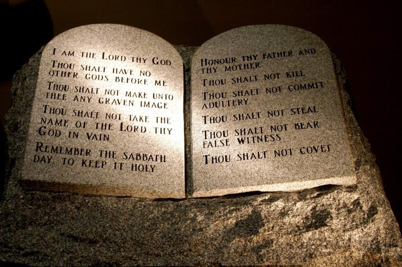 Studying the Ten Commandments is important today.