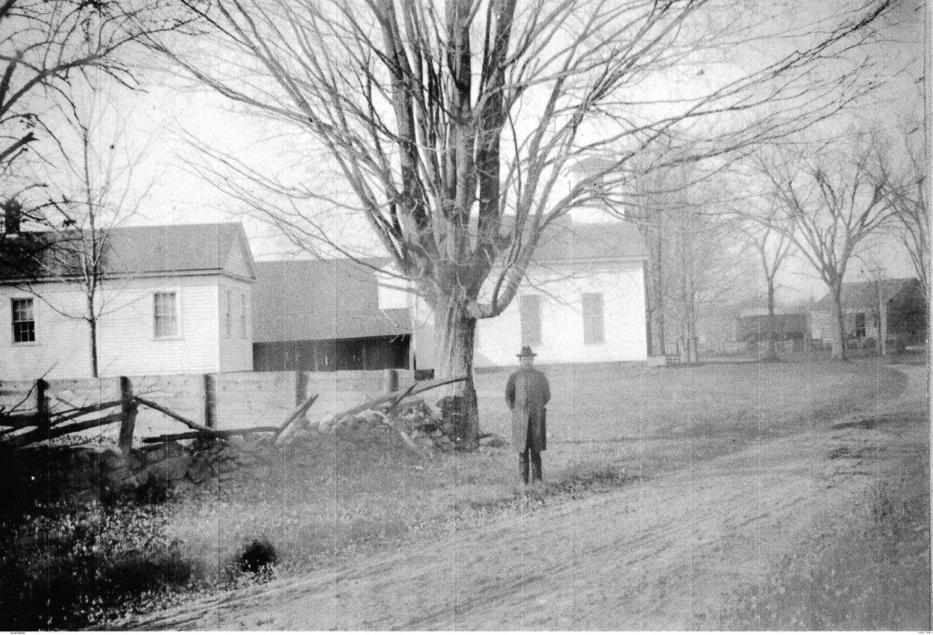 Copper Hill Church in the 1890's
