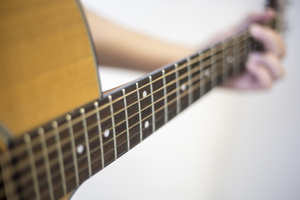 Guitars will be included in the concert
