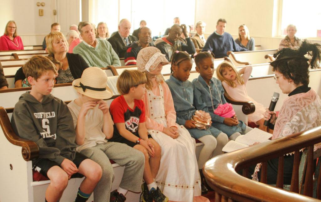 Children's church moment
