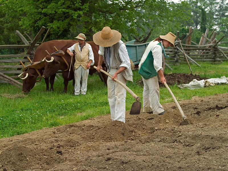 Colonial farmers founded our church.