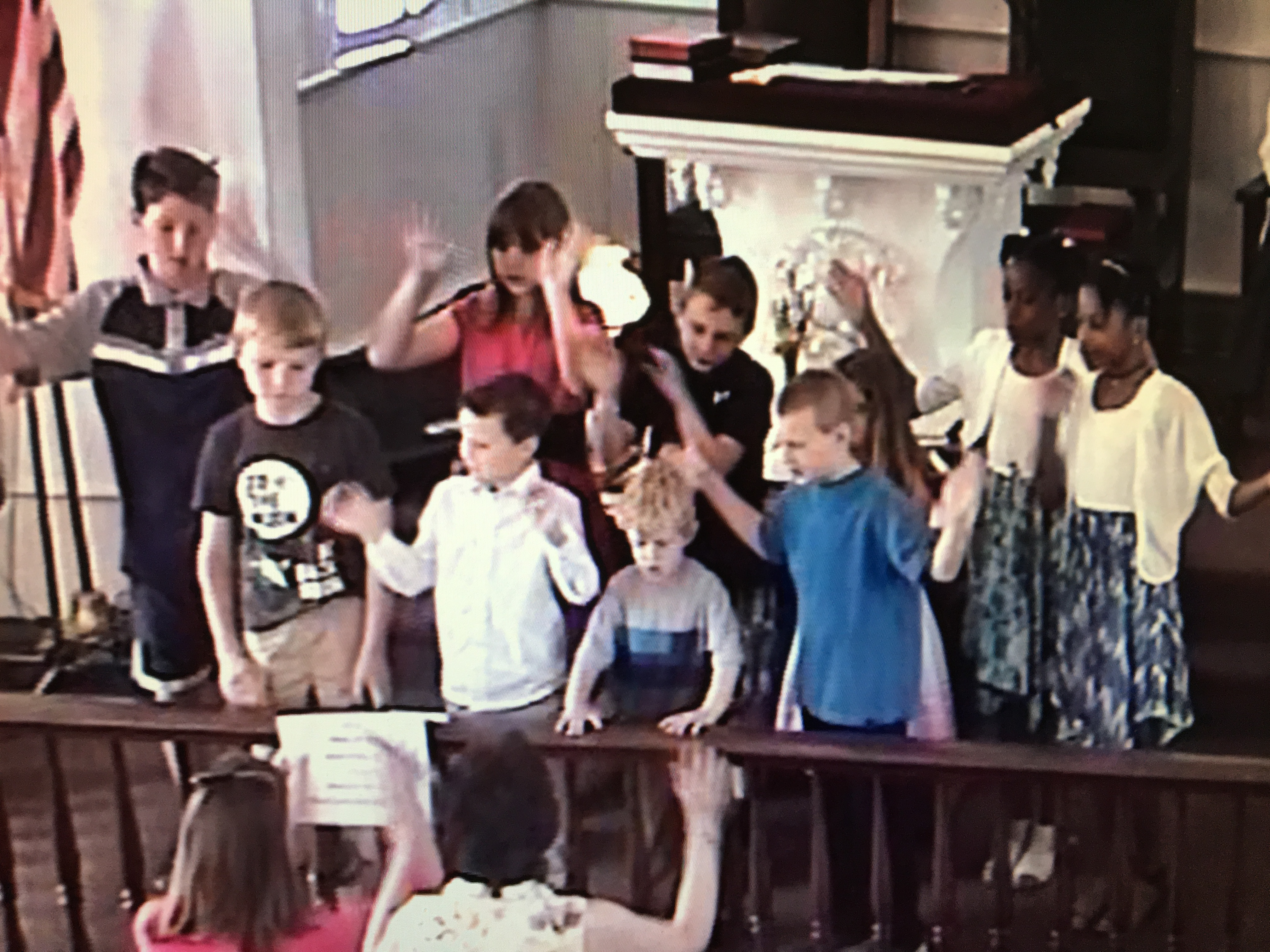 Children song with movements